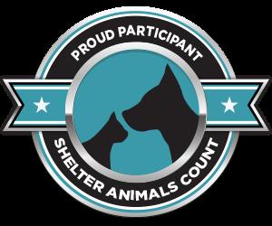 shelter animal count logo